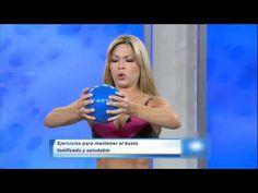 Ejercicios para tonificar tus senos, busto, bubis, tetas - YouTube