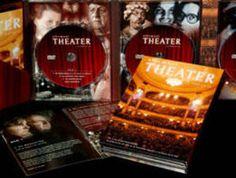 DVD-box 'Allemaal Theater', erg mooie twaalfdelige documentaire over de Nederlandse theatergeschiedenis vanaf 1945 tot nu.