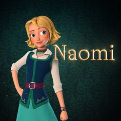 Naomi Turner is a character who appears in the Disney Channel animated series, Elena of Avalor. She is an adventurer and is Elena's best friend. Naomi is a practical girl who never gives up. Unlike Duke Esteban, Naomi approves of Elena's take charge approch and is shown to have a dislike of the snooty Chancellor. She's also shown to have a fear of riding the Jaquins.