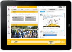 For the 100th Tour de France, as part of its multi-screen digital production, France Télévisions has joined forces with Visiware in order to offer, on second screens (computers and tablets), a unique synchronized and interactive Timeline experience. Viewers of the Tour de France can thus discover France and the Tour's events on 2nd screen synchronously …