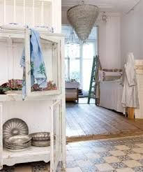 Look at that painted floor! Bed Spreads, Hearth, No Frills, Shabby Chic, Flooring, Room, House, Ladders, Inspiration