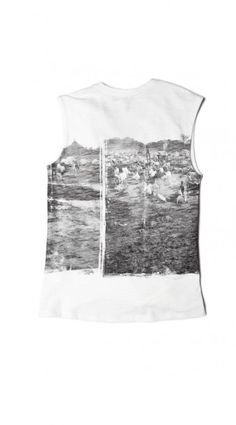 Graphic Muscle Tee | Preserved In Time Collection
