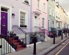 Coloured Apartments