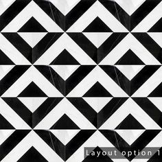 The suitable methodology all via which to Enhance Your Inside Design with Pottery Black Marble Tile, Black And White Tiles, Marble Tiles, Mosaic Tiles, Chevron Patterns, Floor Patterns, Tile Patterns, Black Backsplash, Commercial Flooring