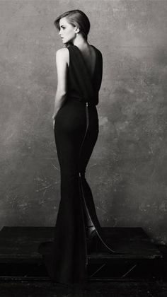 Image de emma watson and black and white