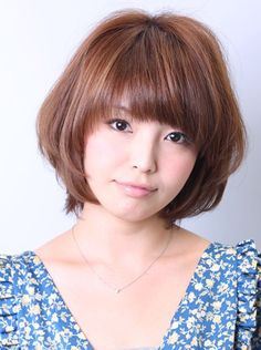 Short Straight Japanese Hairstyle