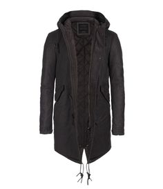 Meraux Parka, Men, Coats, AllSaints Spitalfields