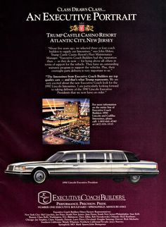 1986 Lincoln Continental Towncar Limousine By Willams Motor Works