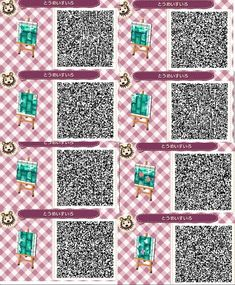 New Animal Crossing QR Code :) #beautiful #water #design