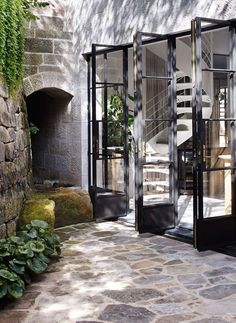 Lovely outdoor alcove I would have in my own home.