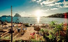 Ibiza Spain Ibiza is one of the Balearic islands, an archipelago of Spain in the Mediterranean Sea.  Boat trips and water sports are popular, with dive sites like Pillars of Hercules caves and the Caves of Light on the northwest coast.... Ted Frank