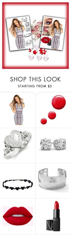 """Bez naslova #35"" by mustafa-saric ❤ liked on Polyvore featuring Topshop, Ippolita and NARS Cosmetics"