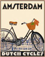 These Linnea travel were the first (and best) of the retro travel posters.  Hats off, Linnea!