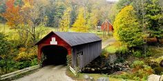 Green River Covered Bridge, Vermont                                                                                                                                                     More