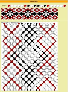 change colors in existing patterns http://friendship-bracelets.net/tutorial.php?id=5087