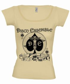 Disco Ensemble womens band shirt