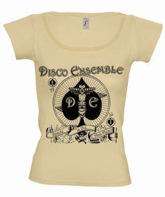 Disco Ensemble womens band shirt