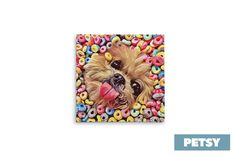 Custom Pet Art by Petsy Gifts For Pet Lovers, Pet Gifts, Dog Lovers, Custom Dog Portraits, Pet Portraits, Inspirational Gifts, Your Pet, Artists, Canvas