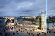 Arte+Charpentier+Architectes+Unveils+Plans+for+Calais+Congress+Centre