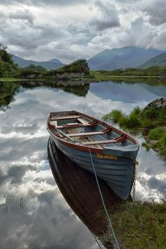 Boat on the Upper Lake Killarney by Lawrence Wheeler on 500px