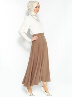 • FLARED MINK SKIRT • from Croyance London