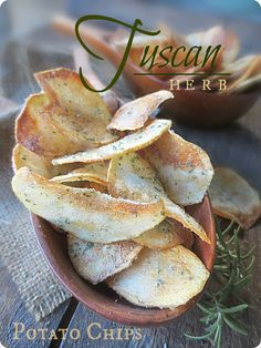 66 best the brooklyn ragazza italian recipes from the blog images homemade tuscan herb gourmet potato chips to get this recipe and tutorial visit my forumfinder Gallery