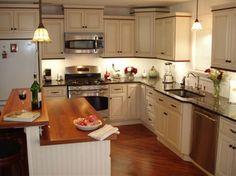 Antique White Kitchen Cabinets Home Design - traditional - kitchen cabinets - columbus - LilyAnn Cabinets