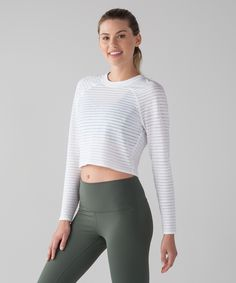 4808bdd5b82 Slip on this breathable long sleeve to cool down in post-practice and bask  in