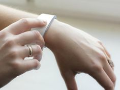 This Bracelet Lets You Hug Someone With a Tap