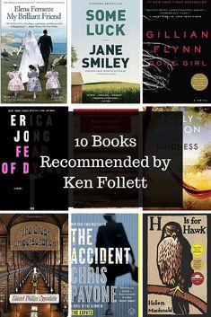 Ken Follett's recommendations!