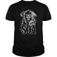 Sons Of Anarchy Smoky Reaper T Shirt | Buy at https://www.sunfrog.com/TV-Shows/Sons-Of-Anarchy-Smoky-Reaper-.html?6987