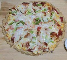 Pizza Pizza Paleo Style, paleo pizza, primal pizza, gluten free, grain free, almond flour pizza crust,