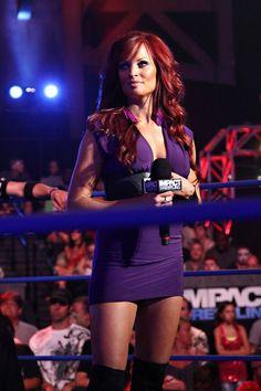 Christy Hemme - TNA Ring Announcer one of the most gorgeous women I've evvvvvveeer seen