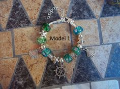 Elegant Metal #Bracelets with fimo, metal and glass beads, unique and not reproducible.   Look at the pictures to select the desired model before purchase. If the photo is n... #handmade #bracelets #bracelet #summer