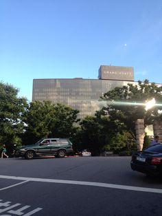 Grand Hyatt Seoul on mt. Namsan on Independence Day of Korea, Aug 15.