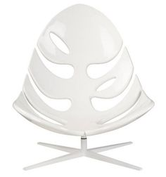 Glossy Leaves Lounge Chair, Monstera by Philip Ahlstrom