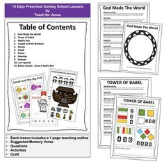 Preschool Sunday School   Easy and Fun Bible Lessons Alphabet Activities, Writing Activities, Learning Resources, Queen Esther Bible, Preschool Sunday School Lessons, Silly Sentences, Christian Missionary, Bible Lessons, Knowing God