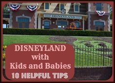 In the many trips I've made to Disneyland over my lifetime I've picked up several helpful tips for going to Disneyland with a baby and kids.