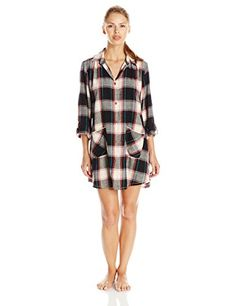 Lucky Brand Women's Brushed Flannel Sleepshirt, Picnic Plaid, Small Lucky Brand http://www.amazon.com/dp/B0127WGXMW/ref=cm_sw_r_pi_dp_yjBxwb1SNC9Q3