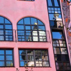 """#hundertwasserhaus #Magdeburg #spiegel #betriebsausflug"""
