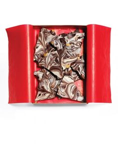 Winter Bark: add a little peppermint oil to the white chocolate and espresso powder to the dark, and leave out the peanuts, and you have Peppermint Mocha bark