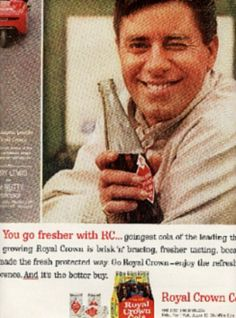 1963 Royal Crown Cola w/Jerry Lewis ad ( # 393)