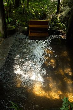 Ryokan Sanga is located in a secluded forest along a mountain stream - traditional Japanese onsen/spa