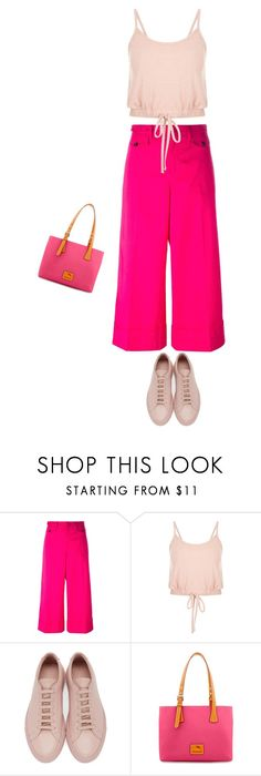 """""""Sem título #385"""" by soleuza ❤ liked on Polyvore featuring N°21, Common Projects and Dooney & Bourke"""