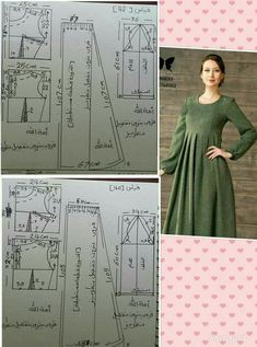 Maxi Dress Sewing PDF Pattern – Womens Maxi Dress Pattern – Maxi Dress patterns … Maxi Dress Sewing PDF Pattern – Womens Maxi Dress Pattern – Maxi Dress patterns for … Abaya Pattern, Collar Pattern, Dress Sewing Patterns, Clothing Patterns, Frock Patterns, Blouse Patterns, Blouse Designs, Sewing Clothes, Diy Clothes