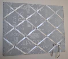 Memo board memory board vision board fabric by MemoBoardsNMore