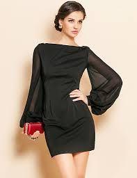 vestidos de noche cortos 2013 negros - Buscar con Google