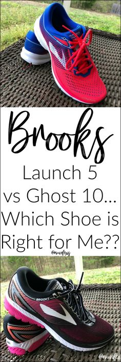 Brooks Launch 5 vs Ghost 10...Which Shoe is Right for Me?? #BrooksRunningShoes #Brooks #BrooksLaunch5 #BrooksGhost10 #Running #RunningShoes #BrooksRunning