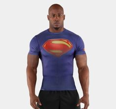 ** SUPERMAN ** Under Armour Men's Alter Ego Compression Shirt All Sizes in Athletic Apparel | eBay