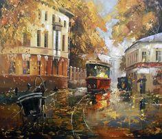 Российский художник Сергей Боев (1973 г.р.) Russian painter Sergey Boev (born in 1973)
